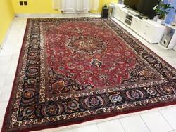 Hatalmas iráni mesedi 253x345  kézi csomózású gyapjú perzsa szőnyeg MM_713