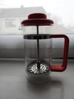 Bodum  szűrős üvegkiöntő - utazó francia kávé főző - kávéfőző