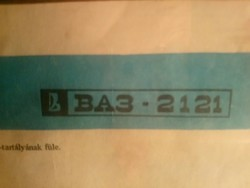 Lada baz 2121 plakát, made in ussr 16 db-os gyűjtemény