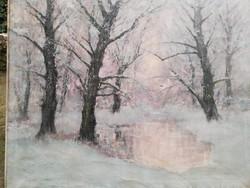 Kézdi Kovács László :Téli erdő