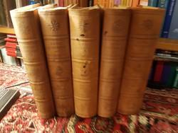 Révay kiadás: A Föld felfedezői és meghódítói 5 kötetes 1938
