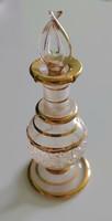 Gyönyörű antik parfümös üveg