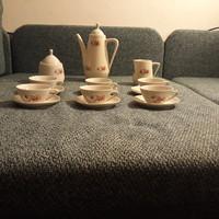 Teás vagy kávés készlet (talán gránit)