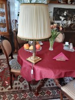 Barok antik réz asztali vagy állolámpa 2 darab 70cm magas