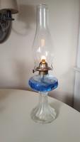 Vastag üveg petróleum lámpa