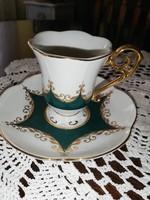Antik porcelán kávés csésze