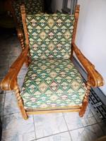 2 db koloniál fotel
