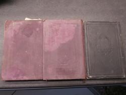 Izraelita imádságos könyvek 3 db Schön József