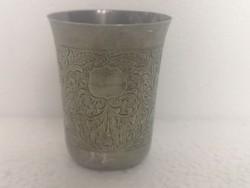 Antik orosz cári ezüst pohár 84zolotnik 1878 moszkva