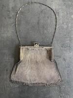 Art deco, ezüst színházi táska