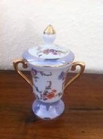Miniatűr porcelán kis amfora