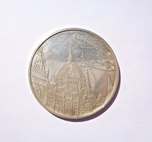 Budapest 1978. I. 6. A Szent Korona hazatérése alkalmából ezüst emlékérem