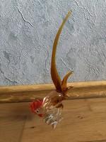 Gyönyörű Muránói ? üveg kakas figura