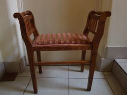 Art deco ülőke - kis szofa   (1910 - 1920 k.)
