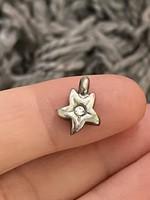 Nagyon szép ezüst medál brill kővel