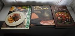 Német szakácskönyv DIE NEUE GUTE KÜCHE / VON ESSEN AUF DEM LANDE / GUTEN APPETIT!