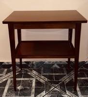 ART DECO  Antik Kis Asztal Több, mint 100 éves Gyönyörű Szín Posta Is