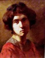 Rippl-Rónai József (1861 - 1927): Fiatal hölgy arcképe (1890)