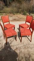 4db Art deco szék minőségi tanusítvánnyal
