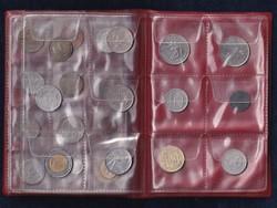 36 db vegyes külföldi lot érmeberakóban (id46988)