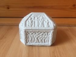 Zsolnay bonbonier doboz alapmázas kísérleti próba darab