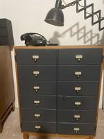 Loft design szekrény