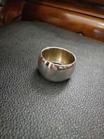 Ezüst szalvétagyűrű  kerék forma .800 - ás finomság.