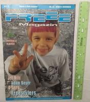 Freee magazin 1998/11 #33 Jeff Mills Adam Beyer Paul Van Dyk Freestylers 4 hero Red Snapper ATCQ