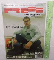 Freee magazin 1999/3 #37 NewL Underworld Carl Craig Busta Rhymes !K7