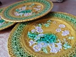 Villeroy & Boch fajansz tányér 1883-1910