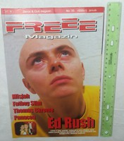 Freee magazin 1999/1 #35 Ed Rush Misjah Fatboy Slim Thomas Chrome Panacea Ice Cube