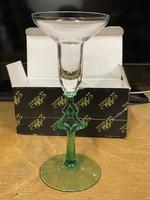 Ajka kristály karácsonyi díszpohár kíváló állapot használatlan