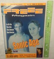 Freee magazin 1998/12 #34 Sonic Age Boy George Orb Advent La-Di-Da Sterbinszky Tommyboy Kühl