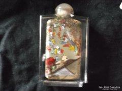 Kínai illatszeres üveg, miniatűr kézi festésű