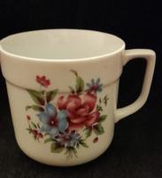 Alföldi porcelán virágos bögre