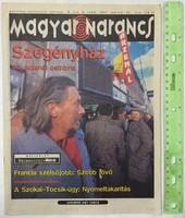 Magyar Narancs újság/magazin 1997/8 Alba Kör Józsefváros Morcheeba Offspring Edda Árral Szemben