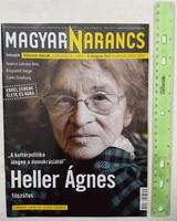 Magyar Narancs újság/magazin 2010/8 Heller Ágnes Szakcsi Lakatos Krzysztof Varga Carlo Ginzburg