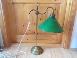 Retro design mid century réz lámpa asztali 65cm