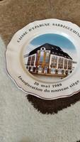 Sarregueminesj lapos tányér 25 cm