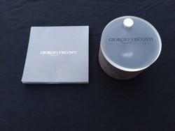 1,-Ft Eredeti Giorgio Visconti 18K gyémánt gyűrű vissza nem térő alkalom.