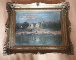 Ujváry Ferenc festmény