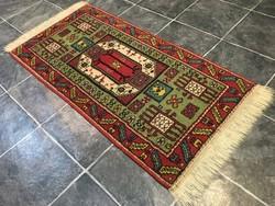 PERZSA mintás szőnyeg - Tisztítva, 66 x 145 cm