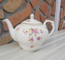 Gyönyörű Gránit virágos teáskanna kanna nosztalgai Gyűjtői szépség
