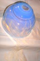 Francia nagyobb méretű  opálüveg lámpabura