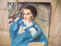 Egy art-deco festmény
