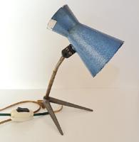 Antik ipari asztali lámpa / loft - industriál