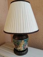Majolika egyedi asztali lámpa