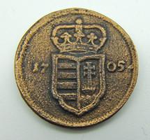 II.Rákóczi Ferenc 1703-1711 XX poltura 1705 PH Kassa