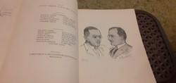 1926-ból!Vicinális dugóhúzó, a József Műegyetem mérnök hallgatóinak kiadványa, sorszámozott: 81. pld