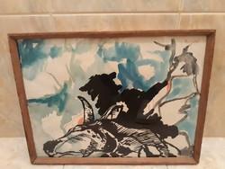 EIGEL ISTVÁN (1922-2000):eredeti festménye
